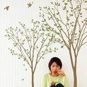 ウォールステッカー 木 DIY 英字 キッチン トイレ 壁 壁紙 1万円以上で送料無料 誕生日 木 緑の香り