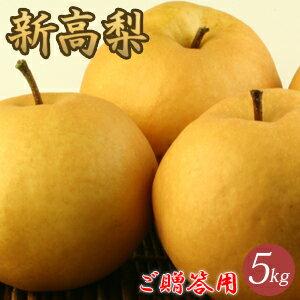 新高梨(にいたかなし)5kg詰(7玉前後入) 鳥取県産...