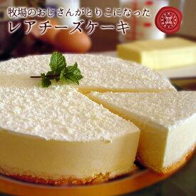 バースデーケーキ 誕生日ケーキ 牧場のおじさんがとりこになった手作りレアチーズケーキ 6号 18cm 6〜8人分 ハロウィン限定ラッピング