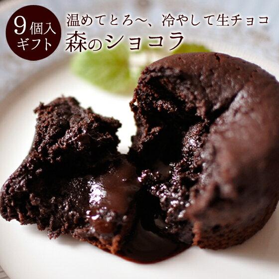 母の日 スイーツ チョコレート ギフト 森のショコラ9個入 あす楽対応 【送料無料】母の日限定ラッピング