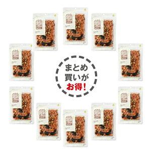 柿の種・辛味噌味大豆・サクサク昆布ミックス 65g×10P お菓子/和菓子/お茶菓子/プレゼント/お土産/手土産/母の日/父の日/敬老の日/大豆スナック/もち米/せんべえ/おかき/豆菓子/大豆/昆布/