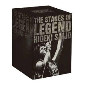 ソニーミュージック 【DVD】THE STAGES OF LEGEND 栄光の軌跡 西城秀樹 HIDEKI SAIJO AND MORE DYCS-1219 1セット(9枚入)