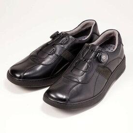 金谷製靴 カネカ 日本製 ソフト牛革ダイヤル式ウォーキングシューズ 4E 339 1足