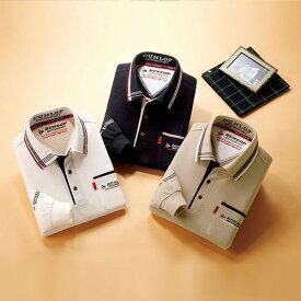 フレンドリー ダンロップ・モータースポーツ デザイン長袖ポロシャツ 3色組 957191 1セット(3枚:3色×各1枚)