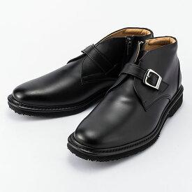 金谷製靴 カネカ 日本製 ソフト牛革 チャッカブーツ ベルトタイプ 4E 22 1足