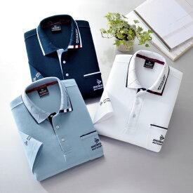 フレンドリー ダンロップモータースポーツ 5分袖デザインポロシャツ 3色組