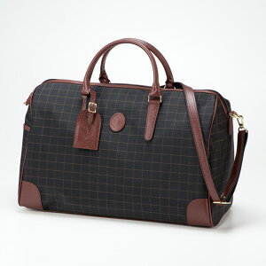 平野鞄 カチャトーレ 日本製チェックボストン 11922 1個
