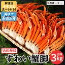 ロイヤルグリーンランドジャパン 本ズワイガニ 脚Lサイズ ボイル 冷凍 3.0kg(16〜20肩入)