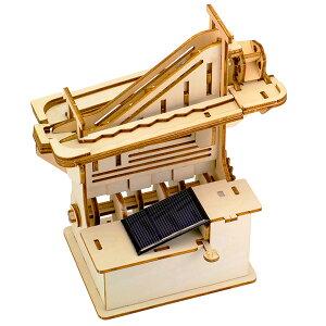 そろはむ 遊べる木製パズル マーブルマシン かいだん M-0100 1個
