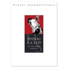 ソニーミュージック 【DVD/CD】西城秀樹 HIDEKI UNFORGETTABLE-HIDEKI SAIJO ALL TIME SINGLES SINCE1972 1セット(CD5枚、DVD1枚、写真集)