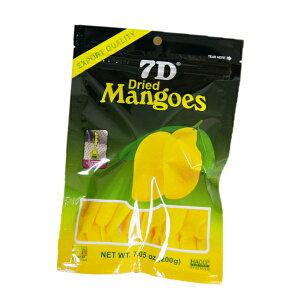 ドライフルーツ マンゴー 7D ドライマンゴー 200g×1袋 国内初 正規輸入品 大容量200gパック 通常商品70gの2.8倍 ノンコレステロール フィリピン セブ ヨーグルト シリアル トッピング