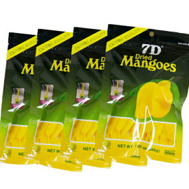 ドライフルーツ マンゴー 7D ドライマンゴー 200g×4袋 【まとめ買い】 国内初 正規輸入品 大容量200gパック 通常商品70gの2.8倍 ノンコレステロール フィリピン セブ ヨーグルト シリアル トッピング おかえりマンゴー