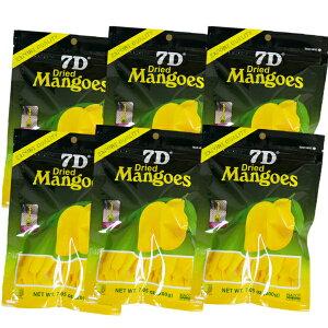 ドライフルーツ マンゴー 7D ドライマンゴー 200g×6袋 【まとめ買い】 ドライフルーツ 国内初 正規輸入品 大容量200gパック 通常商品70gの2.8倍 ノンコレステロール フィリピン セブ ヨーグルト