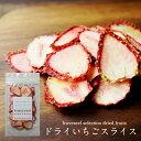 ドライフルーツ 国産 砂糖不使用 無添加 ドライイチゴ ドライいちご スライス 栃木県産とちおとめ使用 ヨーグルト シ…