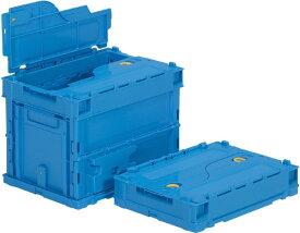 折りたたみ収納ボックス・収納ケース サンクレットオリコン P19B <外寸>36.6×26.4×28.1cm
