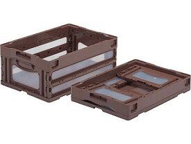 折りたたみ収納ボックス・収納ケース オリコン(折りたたみコンテナ)マドコンO-30B <外寸>53×36.6×22.1cm
