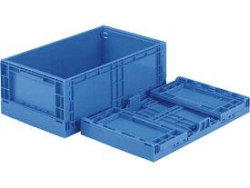 折りたたみ収納ボックス・収納ケース コンテナ オリコンEP20B-B <外寸>47.8×28×18.6cm