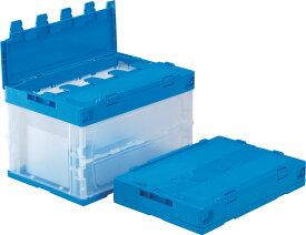 折りたたみ収納ボックス・収納ケース サンクレットオリコンP51B <外寸>53×36.6×34.2cm