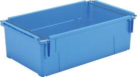 大箱 大きい箱 サンバケット#100NB(ハンドル付)孔有 <外寸>90×52.8×28.6cm