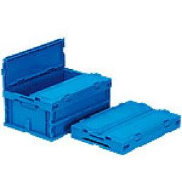 折りたたみ収納ボックス・収納ケース サンクレットオリコンP30B-SL <外寸>53×36.6×24.1cm
