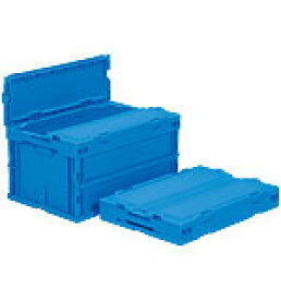 折りたたみ収納ボックス・収納ケース サンクレットオリコンP40B-SL <外寸>53×36.6×29.1cm