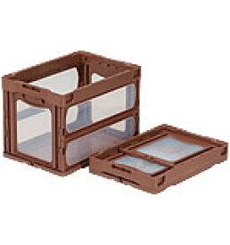 折りたたみ収納ボックス・収納ケース オリコン(折りたたみコンテナ)マドコンO-60B <外寸>53×36.6×38cm