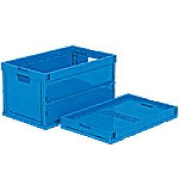 折りたたみ収納ボックス・収納ケース オリコンP64B-B<外寸>61.0×38.0×33.1cm
