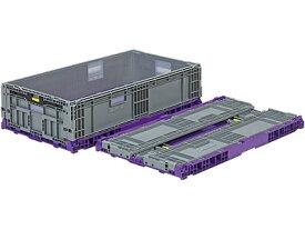 折りたたみ収納ボックス・収納ケース オリコンEP82B-SW<外寸>90.0×50.0×22.6cm