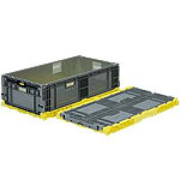 折りたたみ収納ボックス・収納ケース オリコンEP96B-SW<外寸>90.0×50.0×26.2cm