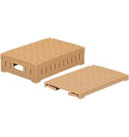 折りたたみ収納ボックス・収納ケース ディスプレイオリコン6416<外寸>60.0×40.0×16.0cm