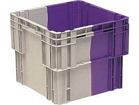 収納ボックス・ケース(2色)N#107 <外寸>55×55×46cm
