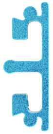 Anvil トリガーインサート 東京マルイHi-CAPAシリーズ用 インターチェンジブルトリガーベース専用 ショートフラット Blue 1800-WOE