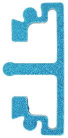 Anvil トリガーインサート 東京マルイHi-CAPAシリーズ用 インターチェンジブルトリガーベース専用 ミディアムフラット ブルー 1800-WOE