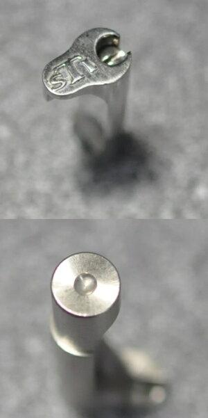 AirsoftMasterpieceマガジンキャッチSilverSTI刻印付き東京マルイHi-Capa用ステンレスMRC-STSL-9800