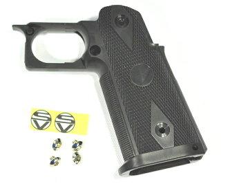 供WE東京丸井Hi-CAPA系列使用的STI特別定做握柄標準尺寸Black-3000