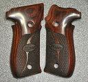 Altamont グリップ スーパーローズ スティブル/チェッカー 木製 東京マルイ SIG P226R用