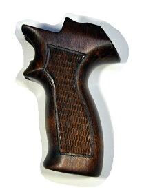 マルシン グリップ 純正 ガスガン マテバ リボルバー用 木製 9800