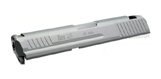 雷管幻灯片设置 KSC/Umarex HK45 的自定义银 SL-KSC07SV-31000-WOEE