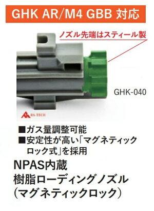 RA-TECHNPASローデイングノズルセットGHKM4GBB樹脂製GHK-040