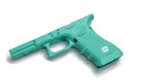 GUARDER フレーム Blue 2019Ver. 東京マルイ KJ Glock17用 リアル刻印 USA Ver.2019 GLK-99(REB)