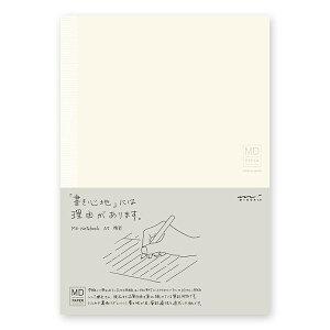 MDノート A5 横罫 180度開き 糸かがり綴じ しおり紐付き 176ページ MIDORI ミドリ 文房具
