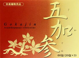 JPS五加参(ごかじん) 60包 【正規品】健康を漢方の力でサポートJPS製薬/冷え/エゾウコギ