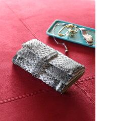 ダイヤモンドパイソンギャルソン長財布/レディース