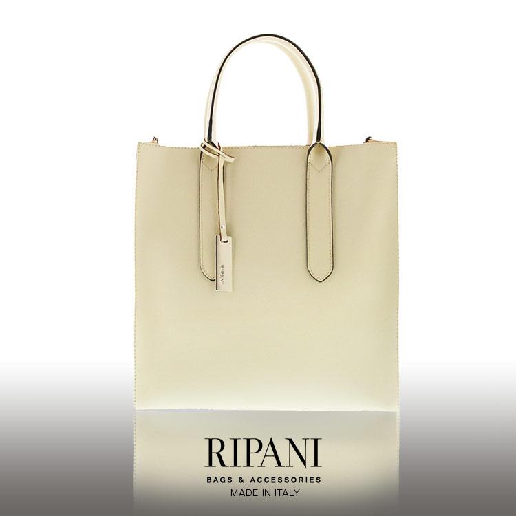 RIPANI/リパーニ イタリア製 サフィアーノ レザー トートバッグ 2way A4 牛革 縦型 レディース 全5色