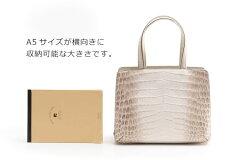 A5サイズが収納可能な小さめのハンドバッグ