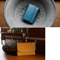 ブルーキャメルコンパクト財布