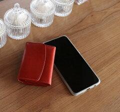 レッド赤レザー財布