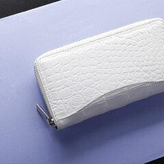 ナイルクロコダイル財布