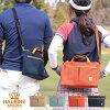HALEINESPORTSゴルフカートバッグ帆布ヌメ革日本製