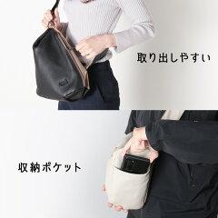 ショルダーバッグレディースHALEINEイタリアンシュリンクレザー牛革栃木レザーヌメ革日本製